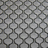 Double mesh filling fabric
