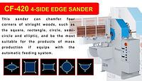 CF-420 4-SIDE EDGE SANDER