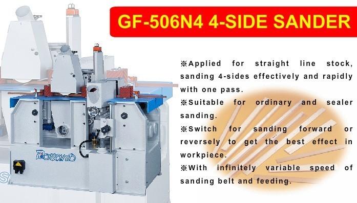 GF-506N4 4-SIDE SANDER