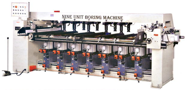 HS-196T Nine-Unit Boring Machine