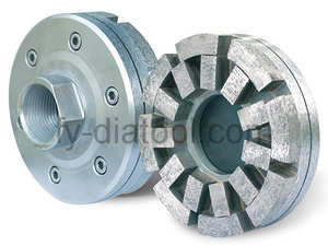 Diamond Satellite Abrasive for Calibration
