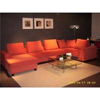 Peking fabric sofa