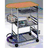 Serving Cart w/wine rack