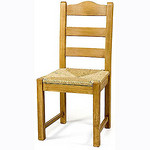 Country Low Back dining chair