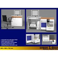 CREON Hideaway computer desk