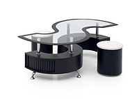 modern glass Coffee Table XY-C-03