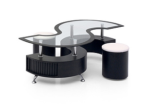 modern glass Coffee Table XY-C-03