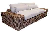 Zezo 3 Seater- Living Room Sofas