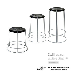 Split Bar stool