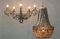 Abalone Chandeliers