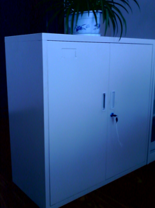 Double doors File cabinet