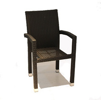 popular outdoor rattan chair furniture/cheapest wicker dining chair