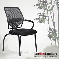 simple style and mesh fabric computer chair with legs HX5002