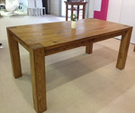 European Solid Oak Dining Table