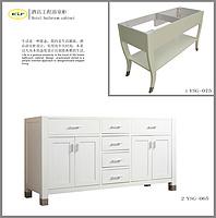 Hotel bathroom cabinet