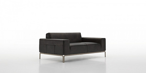 DFS218 Leather Sofa
