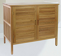bathroom 2 door wooden floor cabinet, basin base cabinet,solid walnut,oiled,KD