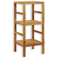 walnut 3-5 tier shelf,solid walnut bathroom corner shelf  ,oiled