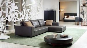 Leather sofa MS1204