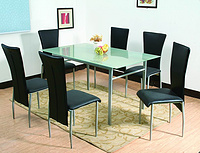 1+6 meeting room table set