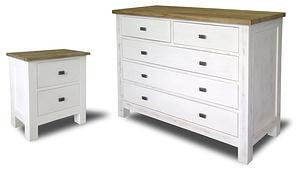 Charlie Bedroom Furniture (Nightstand & Dresser)