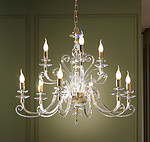 CHANDELIER ALICANTE SATIN