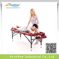 Acrofine Alumiunium Folding Massage Table Hermes II