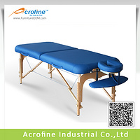 Acrofine Wooden Massage Table Reikistar II