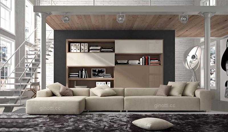 Italian modern design sofa GPS1061 of China Guangdong ...
