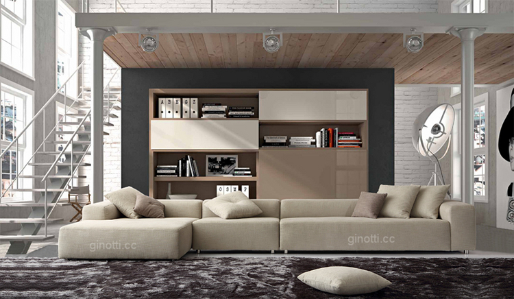 italian furniture company living room italian modern design sofa gps1061 of china guangdong guangzhou