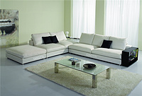 Modern fabric sofa factory China Shenzhen furniture GPS6034C