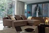 Best selling L shaped sofa corner sofa GPS6067C of Guangdong furniture sofa factory