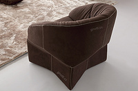 comfortable fabric armchair, single sofa chair GEC6149
