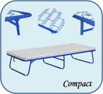Folding bed---COMPACT