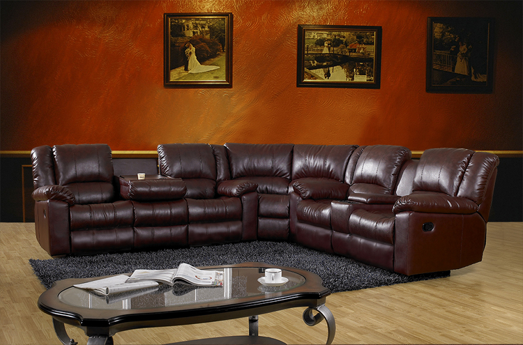 8306- Reclining Corner Sofa/recliner sofa/ from China ...