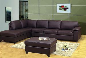 6335- Sectional Sofa/leather soa/livingroom sofa