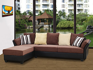 6350- Corner Sofa/fabric sofa/modern sofa