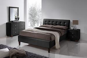 Samara Black Bed