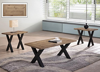 BRENDA 1+2 COFFEE TABLE SET