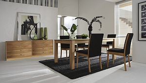 COS-SEMBONIA DINING SET (1+6)