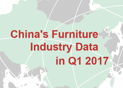 China's Furniture Industry Data in Q1 2017