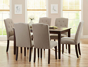 COS-VANESSA DINING SET (1+6)