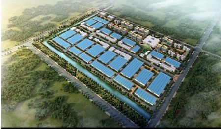 The biggest brand home decoration industrial park in Asia will come into service at the end of the year