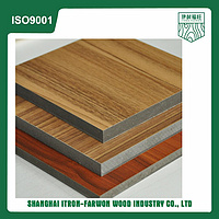Melamine faced Moisture Resistant MDF board made in Shanghai, China