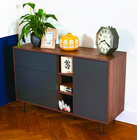Walnut Aero Sideboard