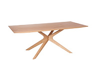 SPIDER TABLE SOLID OAK