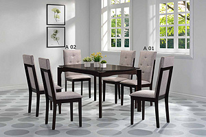 COS-SUMMER DINING SET (1+6)