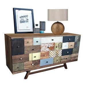 Multi Drawers Sideboard