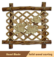 Wood patchwork art home decoration craft gift wall hanging