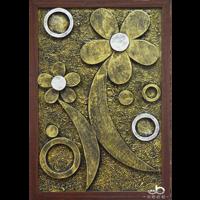 Handmade imitation copper relievo craft gift souvenir home decoration wall hanging